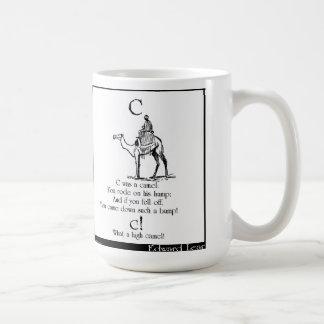 Cはラクダでした コーヒーマグカップ