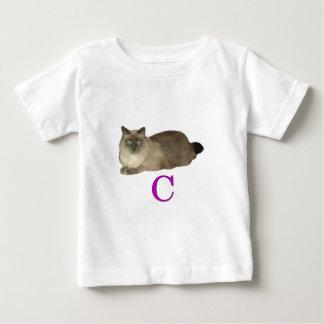 Cは猫のためです ベビーTシャツ