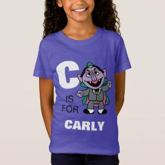 Cは があなたの名前を加える計算フォンCountのためです Tシャツ