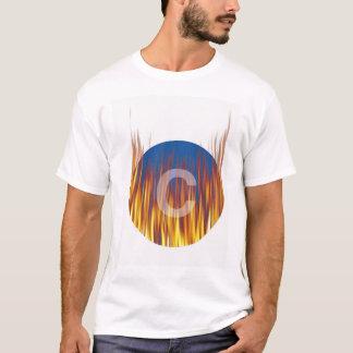C燃え立つこと Tシャツ