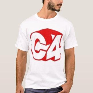 C4 3 Deeのティー Tシャツ