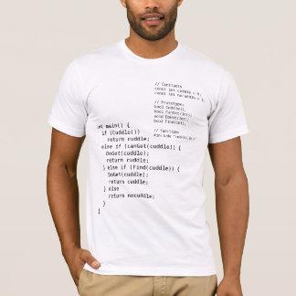 C++ オタク系の抱擁プログラムワイシャツを完了して下さい Tシャツ
