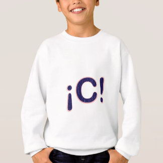 ¡ C! スウェットシャツ