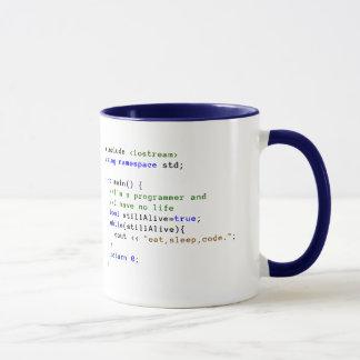 C++ 無限ループはマグを食べ、眠り、そしてコードします マグカップ
