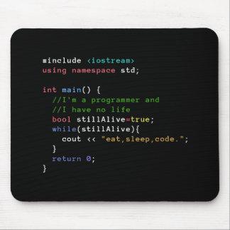 C++ 無限ループは睡眠コードマウスパッドを食べます マウスパッド