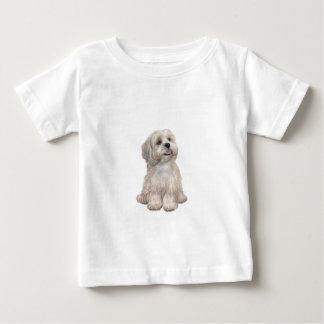 (c) -軽い金ゴールドラサApso ベビーTシャツ