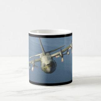 C-130ヘラクレスTransport_Militaryの航空機 コーヒーマグカップ