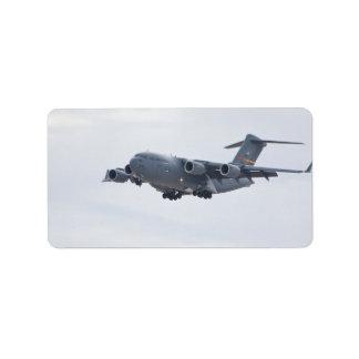 C-17 Globemasterのラベル ラベル