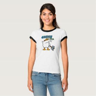 【C.B.Duck 】レディースリンガーTシャツ Tシャツ