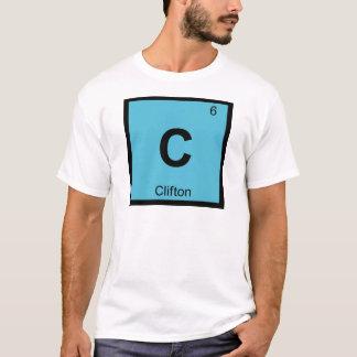 C - Cliftonニュージャージー化学周期表 Tシャツ