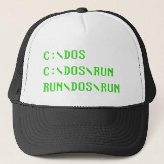C:\DOS C:\DOS\RUNの走ります\ DOS \走られたおもしろいなコンピュータ冗談 キャップ
