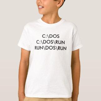 C:\DOSC: \ DOS \ RUNRUN \ DOS \走られる Tシャツ