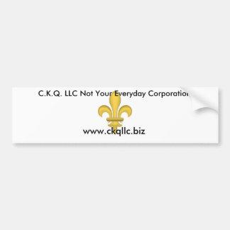 C.K.Q. LLC バンパーステッカー