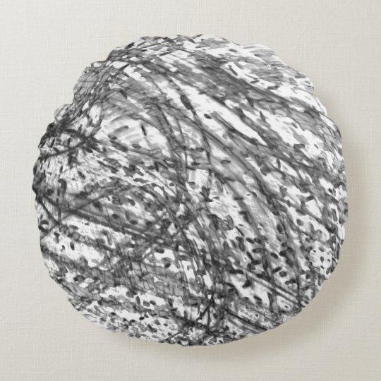C.L.ブラウン著インク洗浄円形の装飾用クッション ラウンドクッション