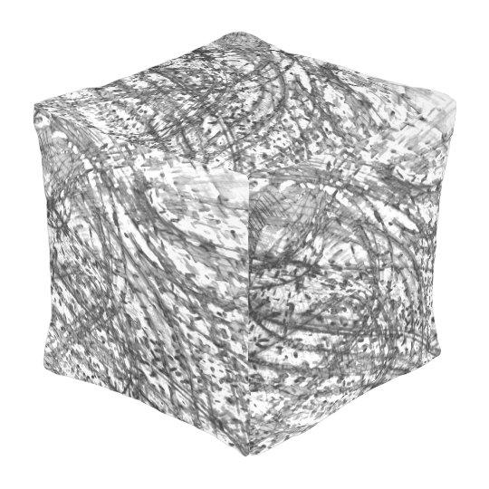 C.L.ブラウン著インク洗浄屋外の立方体にされたPouf プーフ