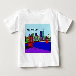 C NewYorkCity.jpg ベビーTシャツ