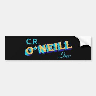 C.R. O'Neill Inc. 11x3のバンパーステッカー バンパーステッカー