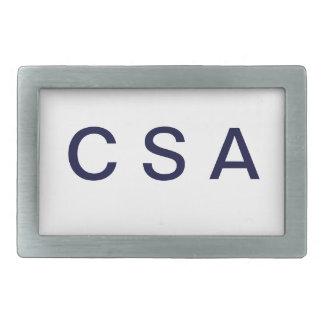 """""""C S A """"のベルトの留め金 長方形ベルトバックル"""