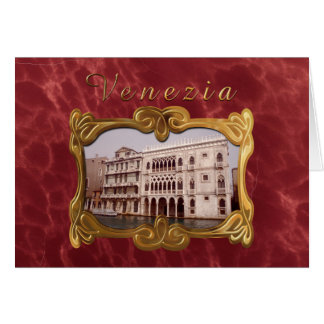 Ca D'Oro宮殿-ベニス、イタリア カード