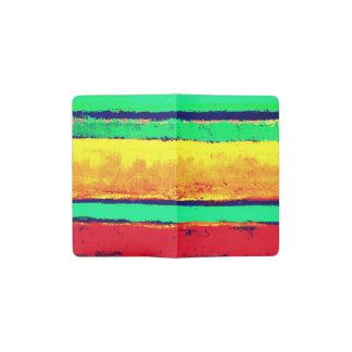 Caboのストライプな芸術家はノートを設計しました ポケットMoleskineノートブック
