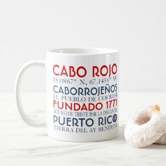Cabo Rojo、プエルトリコ コーヒーマグカップ