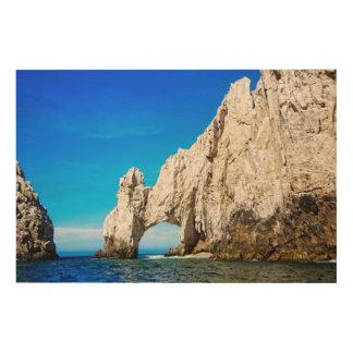Cabo San Lucasの有名なアーチ ウッドウォールアート