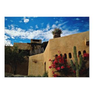 Cabo San Lucas、Baja、メキシコの花 カード