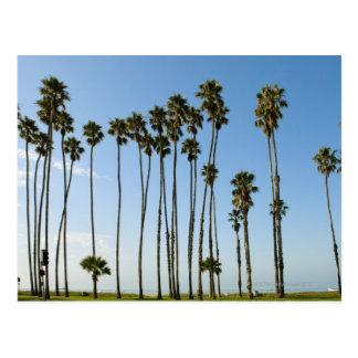 Cabrilloの道、サンタ・バーバラ、カリフォルニア ポストカード