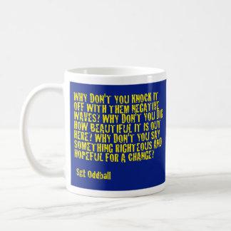 CACCのやる気を起こさせるなマグ#2b コーヒーマグカップ