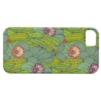 Cactus Flower Pattern iPhone 5 Case iPhone SE/5/5s ケース