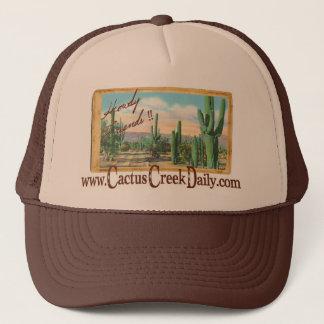 CactusCreekDaily.comのやあ友人のトラックの帽子 キャップ