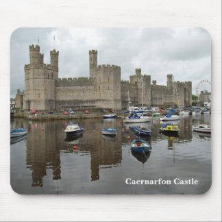 Caernarfonの城のマウスパッド マウスパッド