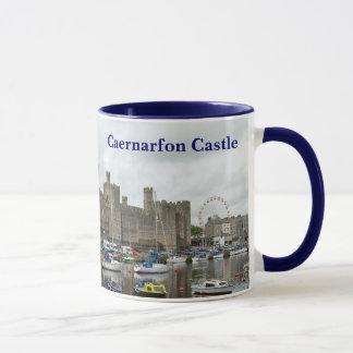 Caernarfonの城のマグ マグカップ