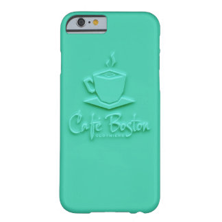 Caféボストンのターコイズ6/6sの箱 Barely There iPhone 6 ケース