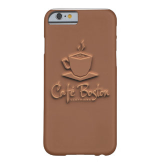Caféボストンチョコレート6/6s箱 Barely There iPhone 6 ケース
