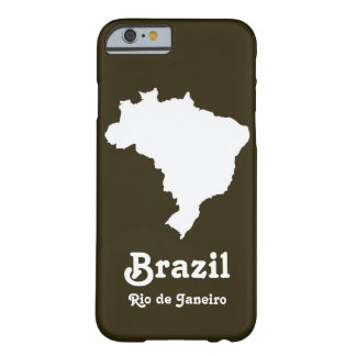 Caféモカフェスティバルブラジル Barely There iPhone 6 ケース