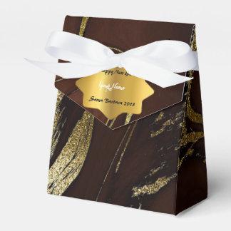 CaffeのNoir金ゴールドの大理石の新年のクリスマスのギフト フェイバーボックス