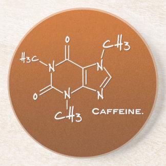 Caffieneの分子(化学構造) コースター