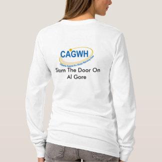 CAGWHレディース長い袖のワイシャツ Tシャツ