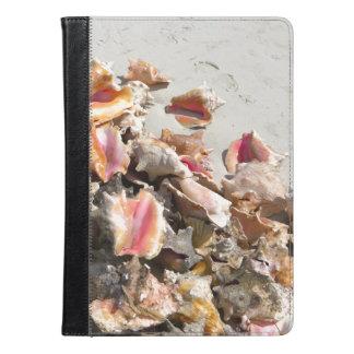 Caicosのビーチ|のトルコ人および写真の貝殻 iPad Airケース