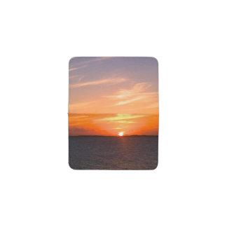 Caicosの豪華な日没|のトルコ人および写真 名刺入れ