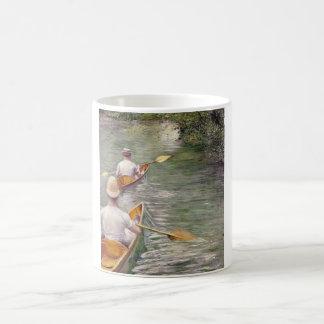 Caillebotte: カヌー コーヒーマグカップ