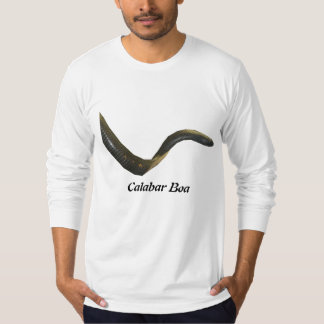 Calabarのボアのアメリカの服装の長袖 Tシャツ
