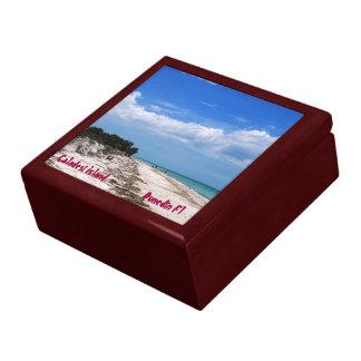 Caladesiの島Flの装身具箱 ギフトボックス