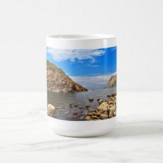 Calafico湾-サンピエトロの島 コーヒーマグカップ