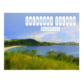 Calaguasの島の郵便はがき ポストカード