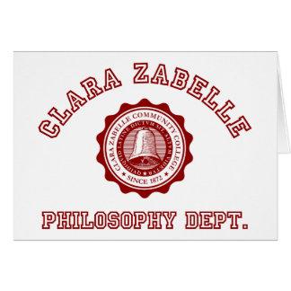 Calara Zabelleの大学頂上 カード