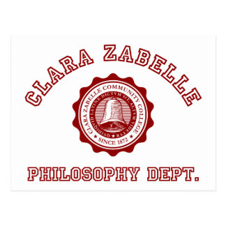 Calara Zabelleの大学頂上 ポストカード