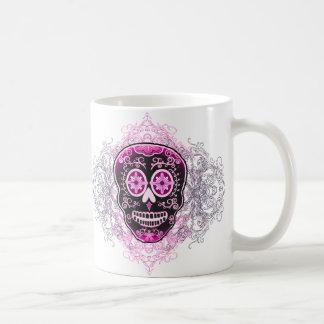 Calaveraのピンクのマグ コーヒーマグカップ