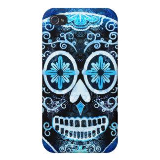 Calaveraの青い箱の精通したiphone 4ケース iPhone 4/4S case